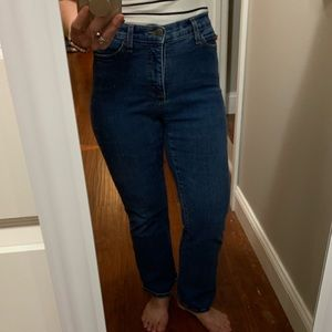 NYDJ Mom Jeans Lighter Wash Bootcut